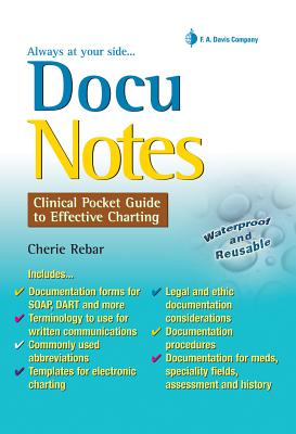 DocuNotes By Rebar, Cherie
